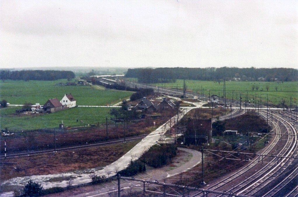 Uitzicht in zuidoostelijke richting, 1974.